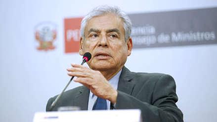 Ejecutivo insistirá en que el referéndum sea solo sobre temas planteados por Vizcarra
