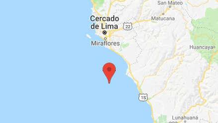 Un sismo de 3.7 grados de magnitud remeció la región Lima