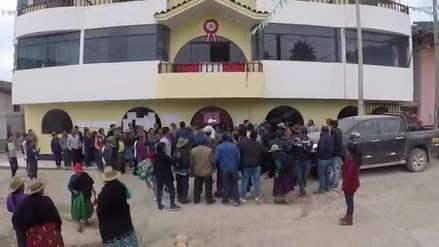 Protestan contra presuntos actos de corrupción en Urpay