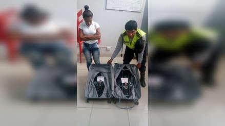 Chiclayo: ciudadana colombiana pretendía pasar droga en su equipaje