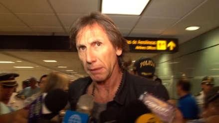 Ricardo Gareca llegó a Lima para definir si renueva o no contrato con la Selección Peruana