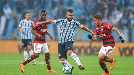 Flamengo sin peruanos empató 1-1 con Gremio por los cuartos de final de la Copa de Brasil