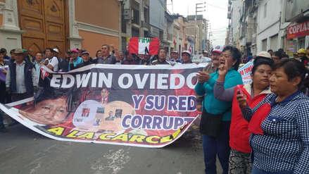Con protesta piden que empresa Tumán vuelva a manos de trabajadores