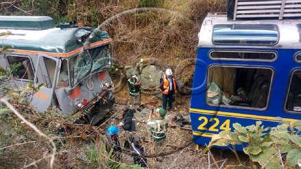 Todo lo que se sabe del choque de trenes en la vía a Machu Picchu