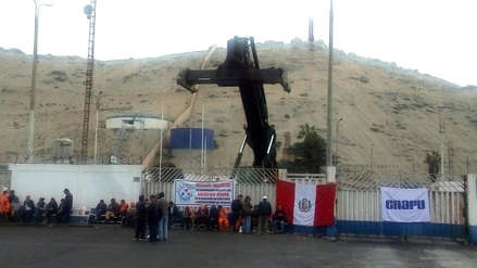 Trabajadores de puerto de Salaverry inician huelga