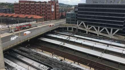 EE.UU. | Un tren se descarriló cerca de la principal estación de Washington D.C.