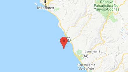 Un sismo de 3.6 grados de magnitud se registró en la región Lima