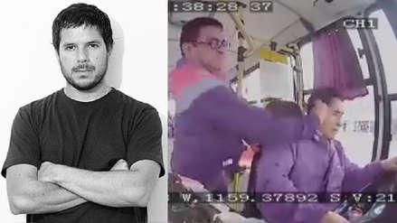 Renato Cisneros sobre pasajero que agredió a chofer de bus: