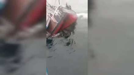 Ocho pescadores se salvaron de morir tras naufragio de embarcación pesquera
