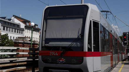 Desodorante gratis para pasajeros de metro en Viena ante ola de calor en Europa