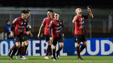 Colón de Santa Fe venció 1-0 a Sao Paulo en Brasil por la Sudamericana