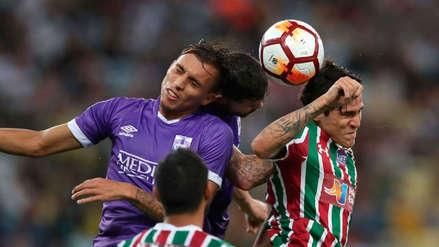 Fluminense venció 2-0 a Defensor Sporting por la Copa Sudamericana