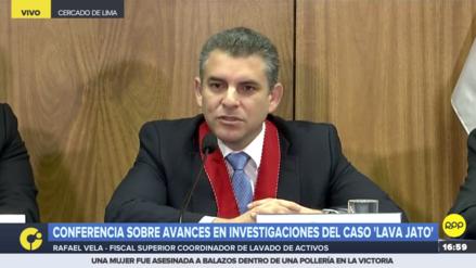 Fiscal Rafael Vela: Se restauró la colaboración con Odebrecht sin restricciones