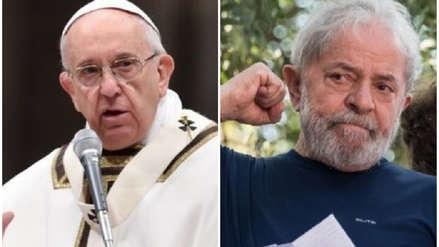 Papa Francisco envió mensaje de puño y letra a Lula da Silva