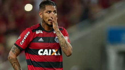Paolo Guerrero no volvería a jugar con Flamengo hasta definir su futuro