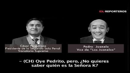 Los Juanelos comparten su propio audio con César Hinostroza [VIDEO]