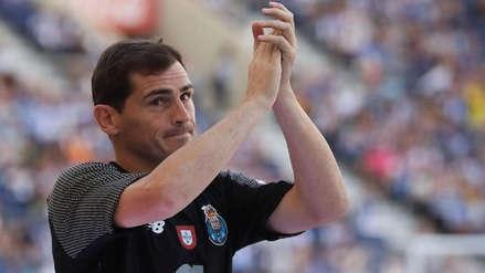 Iker Casillas quiere acabar su carrera en el Porto