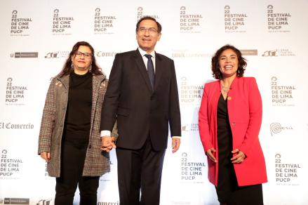 Martín Vizcarra al inaugurar el Festival de Cine de Lima: