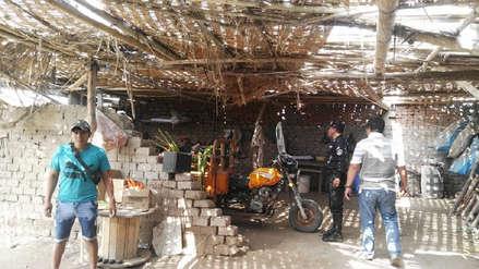 Chiclayo: intervienen talleres clandestinos de pirotécnicos en Monsefú