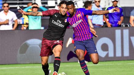 Milan derrotó al Barcelona por la International Champions Cup