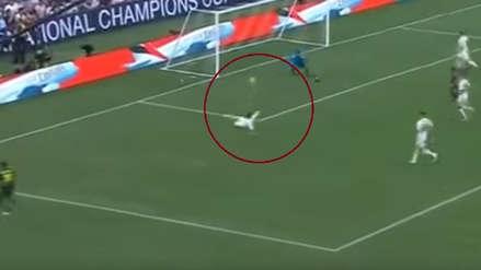 El gol en propia puerta de Dani Carvajal en el Real Madrid vs. Juventus