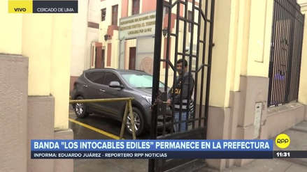 Elías Cuba y 'Los Intocables Ediles' permanecen detenidos en la sede de la Prefectura