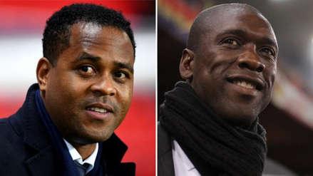 Clarence Seedorf y Patrick Kluivert serán la dupla técnica de esta selección africana