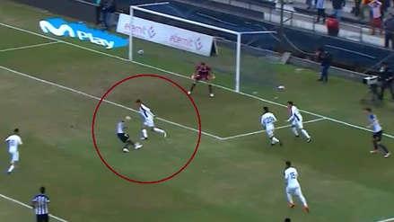 El gol de Alejandro Hohberg a la San Martín tras asistencia de Mauricio Affonso