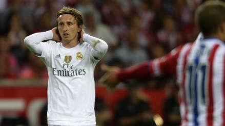 Luka Modric gestiona su salida del Real Madrid para llegar al Inter, según prensa italiana