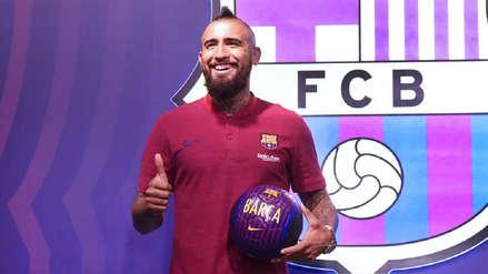 Las primeras palabras de Arturo Vidal como nuevo jugador del Barcelona
