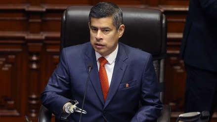 Galarreta asegura que miembros de Mesa Directiva no hicieron uso de beneficios