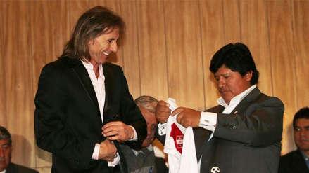 Edwin Oviedo habló sobre la renovación de Ricardo Gareca con la Selección Peruana