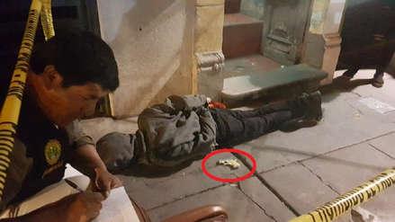Policía captura a delincuente armado en Arequipa