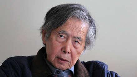 Poder Judicial admitió a trámite pedido para revisar el indulto a Alberto Fujimori