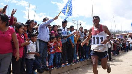 Huancaíno se consagra campeón de ultramaratón en Otuzco