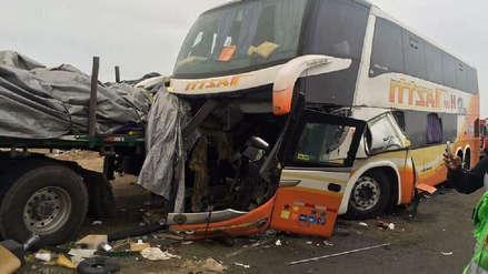 Triple choque en Paramonga deja cuatro muertos y doce heridos