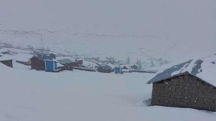 Nevada de hasta 50 centímetros se registró en provincias altas de Cusco