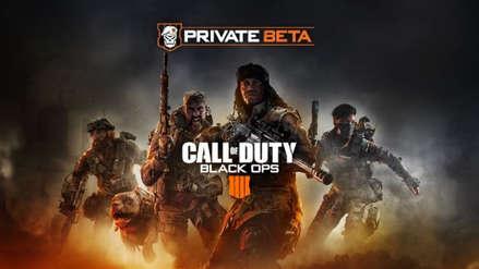 Black Ops 4: impresiones de la beta cerrada