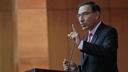 El presidente Vizcarra sumó su Gobierno a compromiso anticorrupción electoral 2018