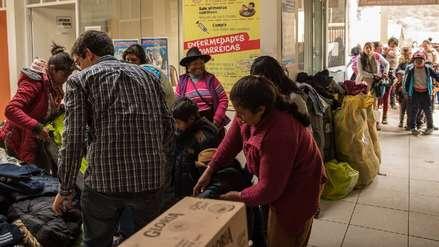 Campaña de RPP y Cáritas ayudó a más de 4 mil familias afectadas por bajas temperaturas