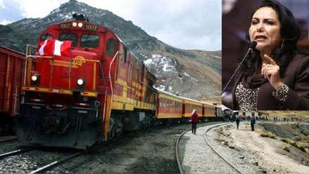 """Congresista Montenegro: """"No es prioritario ferrocarril Trujillo-Chiclayo"""""""