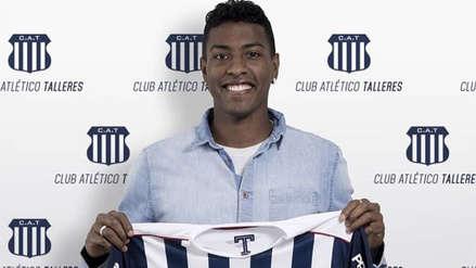 Miguel Araujo se convirtió en nuevo jugador de Talleres de Córdoba