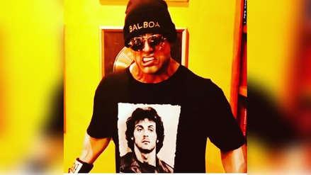 Así entrena Sylvester Stallone para la quinta entrega de