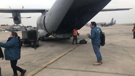Avión de la FAP trasladará a cuatro personas en estado grave tras intoxicación en Ayacucho