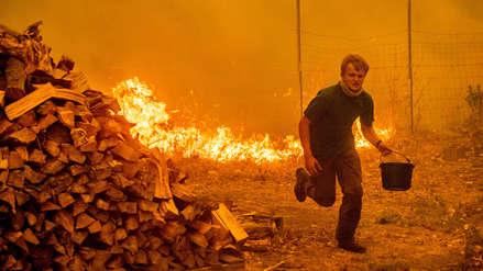 Las imágenes que deja el incendio más grande de la historia en California