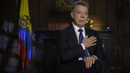 Santos dijo que el mayor logro de su gobierno fue la paz con las FARC