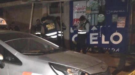 Taxista es asesinado a balazos en Víctor Larco