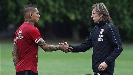 Ricardo Gareca habló sobre Paolo Guerrero y su futuro incierto en Flamengo