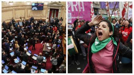 El Senado de Argentina rechazó la legalización del aborto
