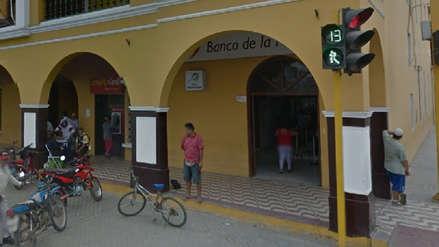 Identifican asaltantes de Banco de la Nación de Guadalupe